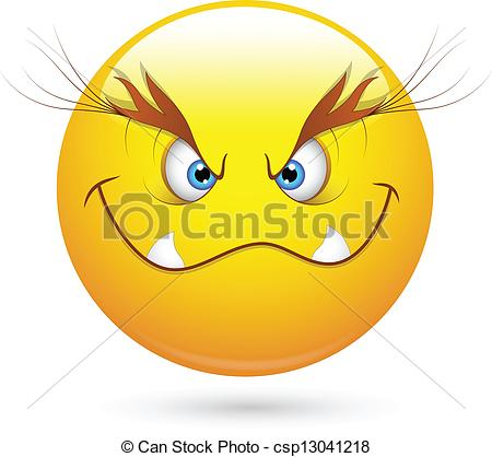 Evil clipart Evil Face Clipart Evil Abstract csp13041218 Evil of
