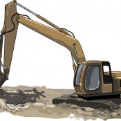 Excovator clipart construction project  clip excavator art News