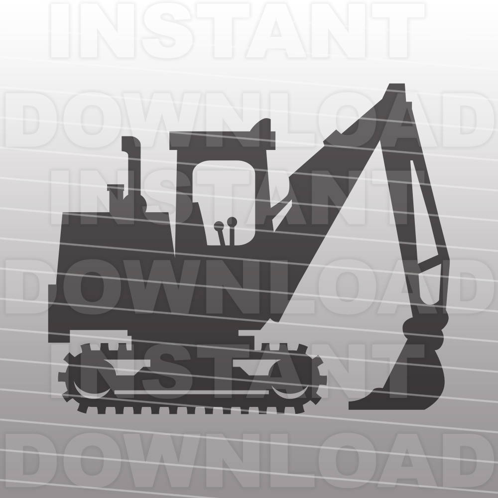 Excovator clipart construction project This file File digital Clip