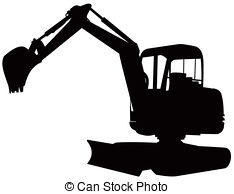 Excovator clipart digger #5