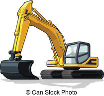 Excovator clipart digger Xendim10/164; art of Clipart clip