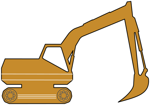 Excovator clipart excavator bucket #2