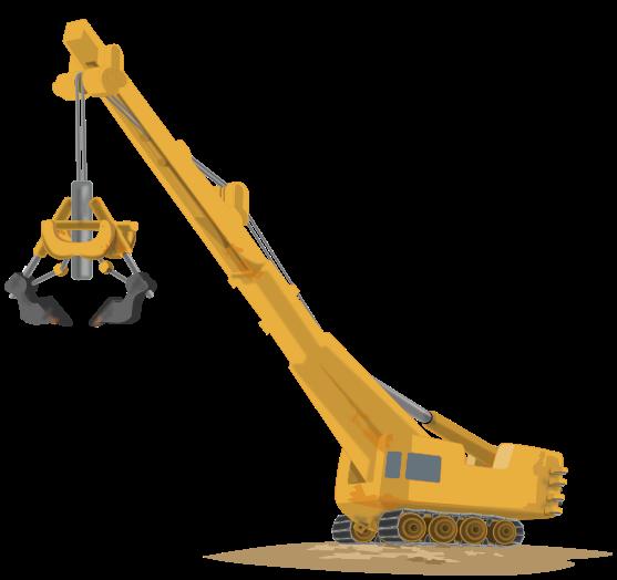 Excovator clipart excavator bucket #3