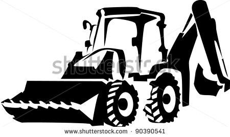 Excovator clipart excavator bucket #4