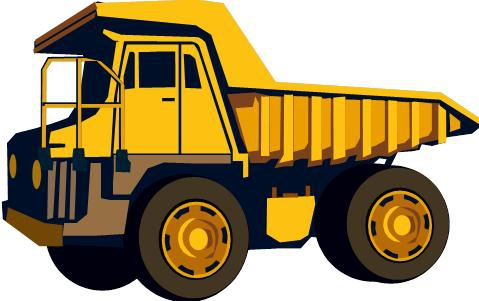 Excovator clipart truck Dump #32219 clipart Dump excavator
