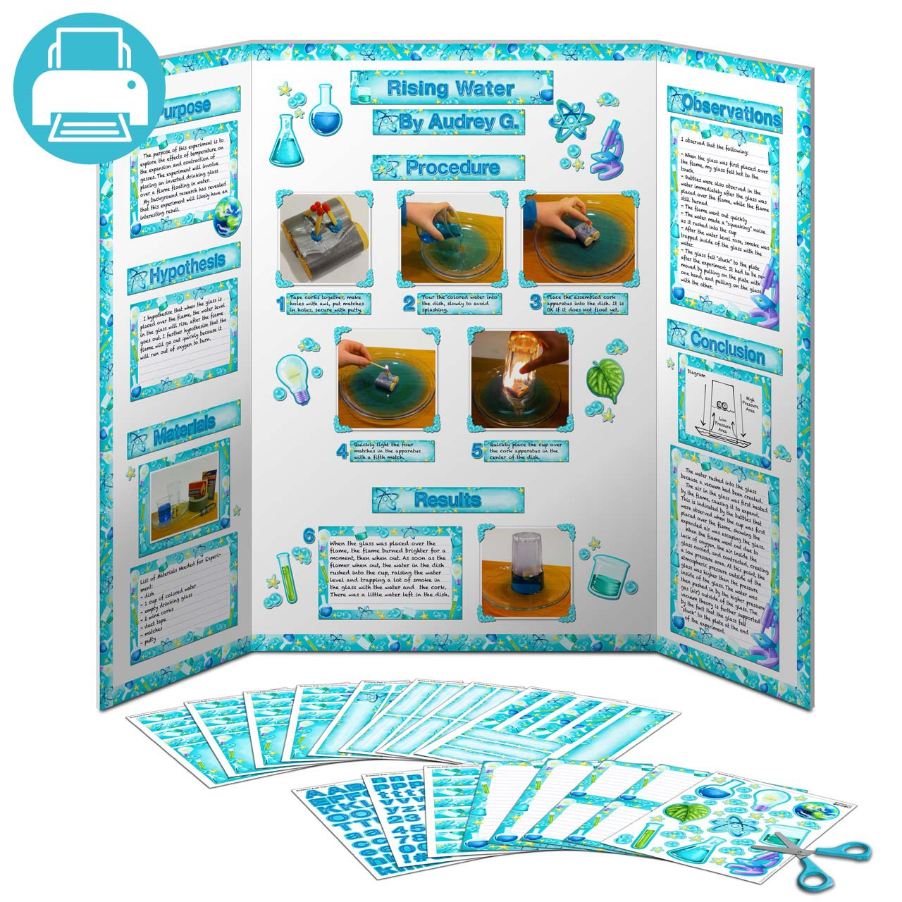 Display clipart project Display science clipart Science Fair