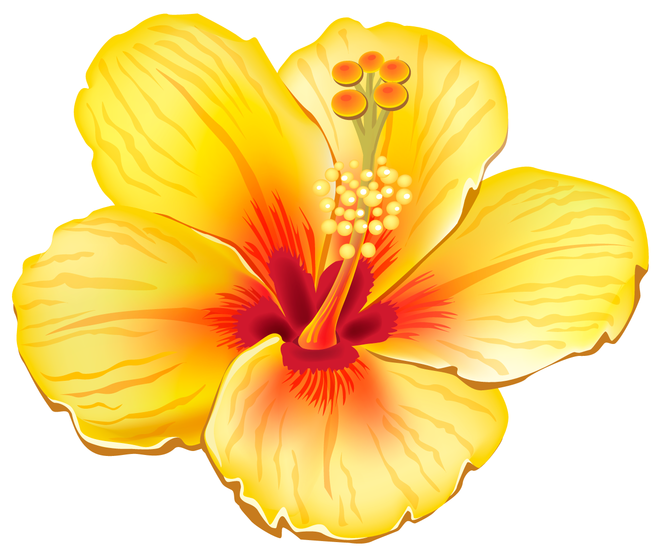 Exotic clipart Free Yellow Clipart Clip Free