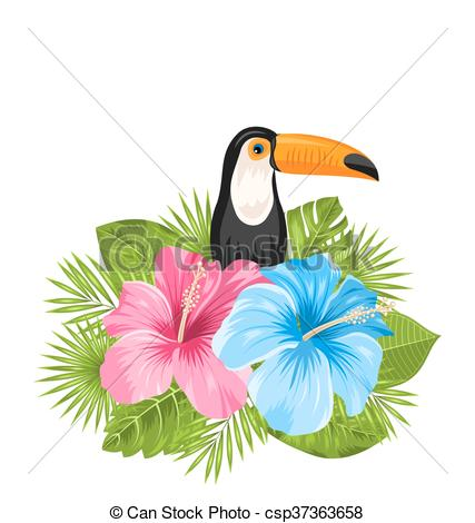 Exotic clipart Of Toucan Beautiful with with