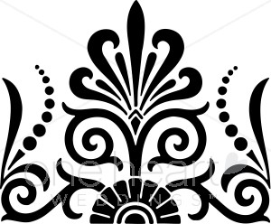 Exotic clipart Designs Black Fan Clipart Exotic
