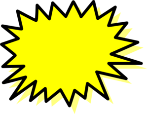 Yellow clipart explosion Explosion free clip Clipartix 3