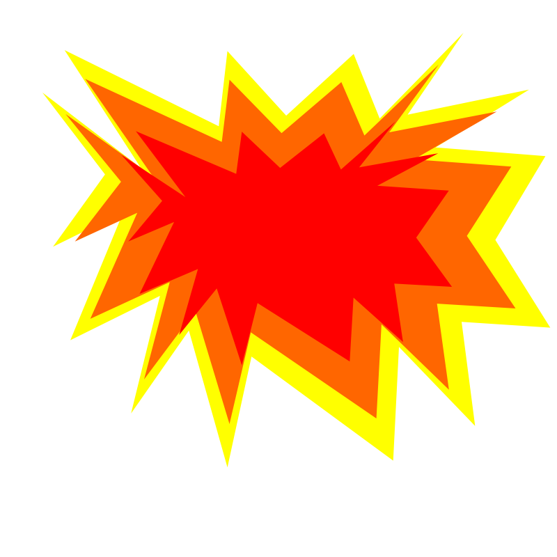 Yellow clipart explosion Explosion%20clipart Art Explosion Free Panda