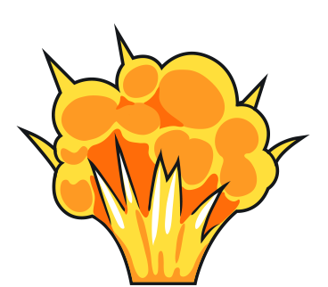 Explosions clipart Cliparting Explosion use Clipart to