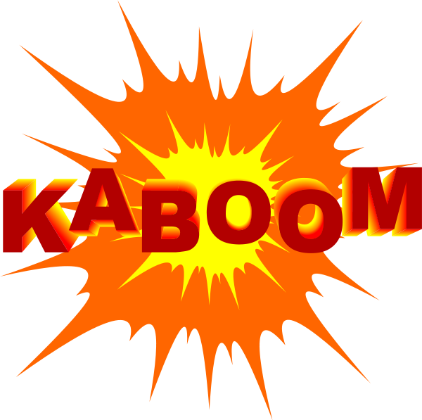 Explosions clipart shape Collection stock art  explosions