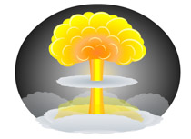 Explosions clipart atom bomb Bomb Illustrations Kb Pictures Free