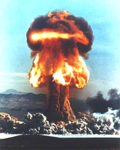 Explosions clipart atom bomb Atomic by to Nuclear do)