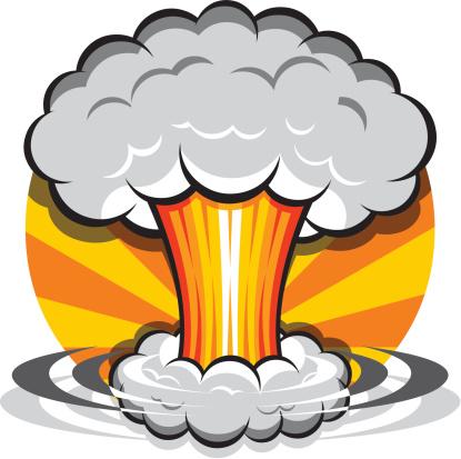 Explosions clipart atom bomb Bomb clip art clipart com