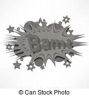 Explosions clipart bam Book Comic (Comic cartoon Vectors