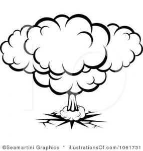 Explosions clipart black and white Clip Pinterest  Free Explosion