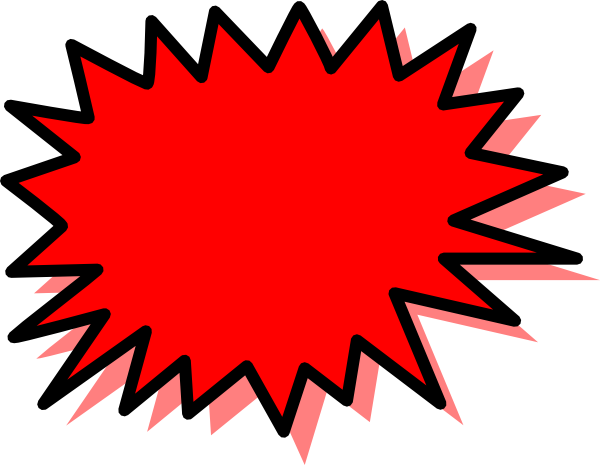 Explosions clipart blank Com Explosion at Download as: