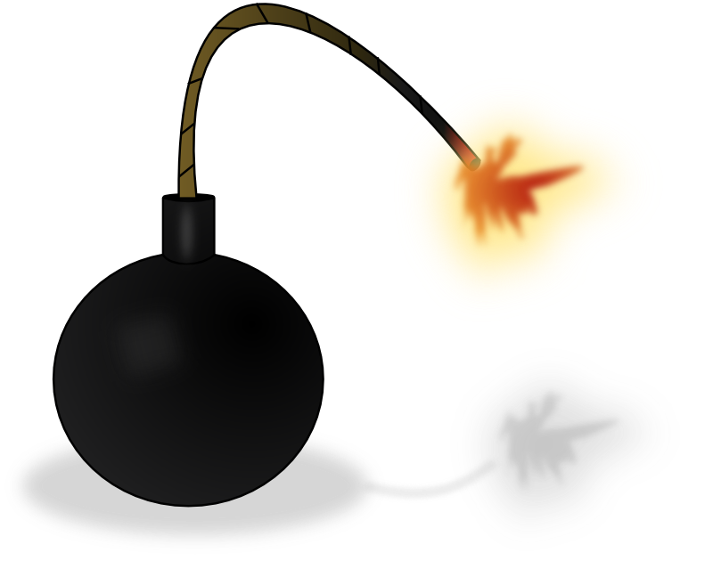 Explosions clipart bom Com Free Cliparting Bomb 46