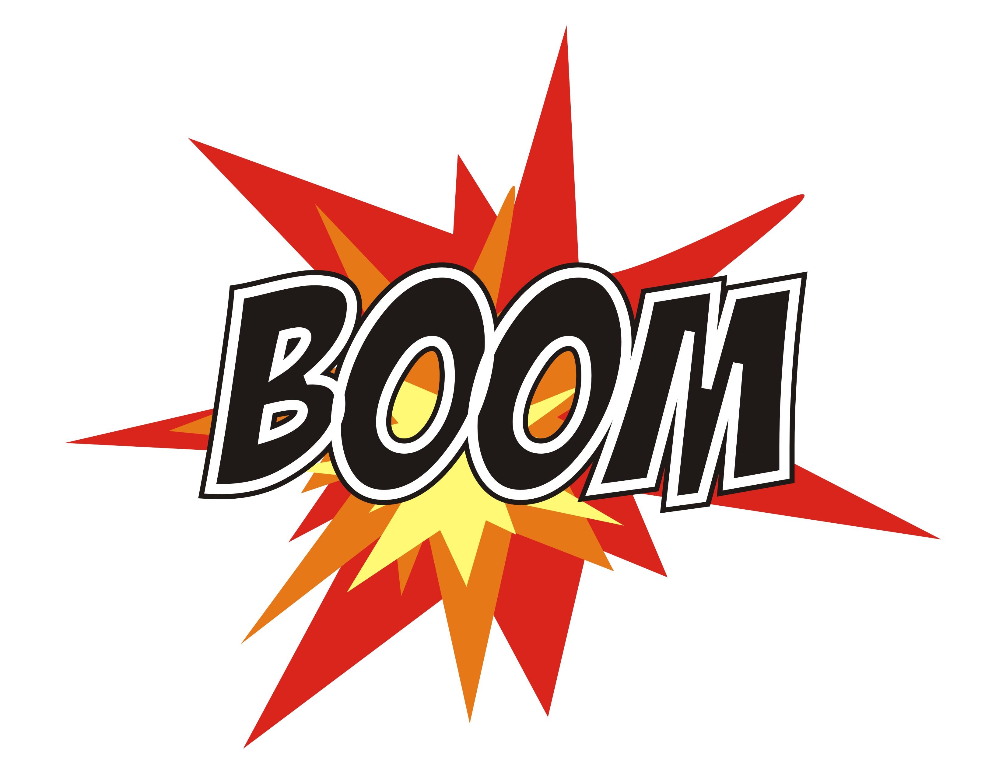 Boom clipart art Clip Art Clipart Panda Boom