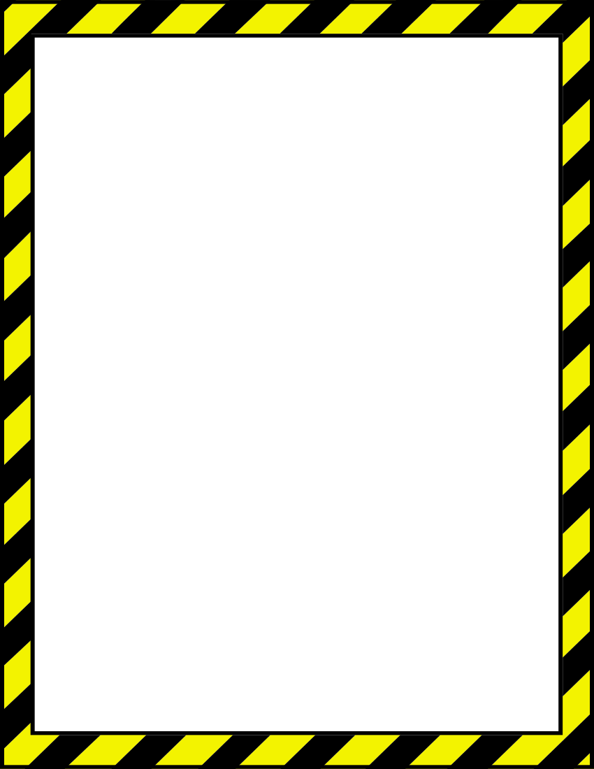 Yellow clipart borderline Clip Border Art Page Other
