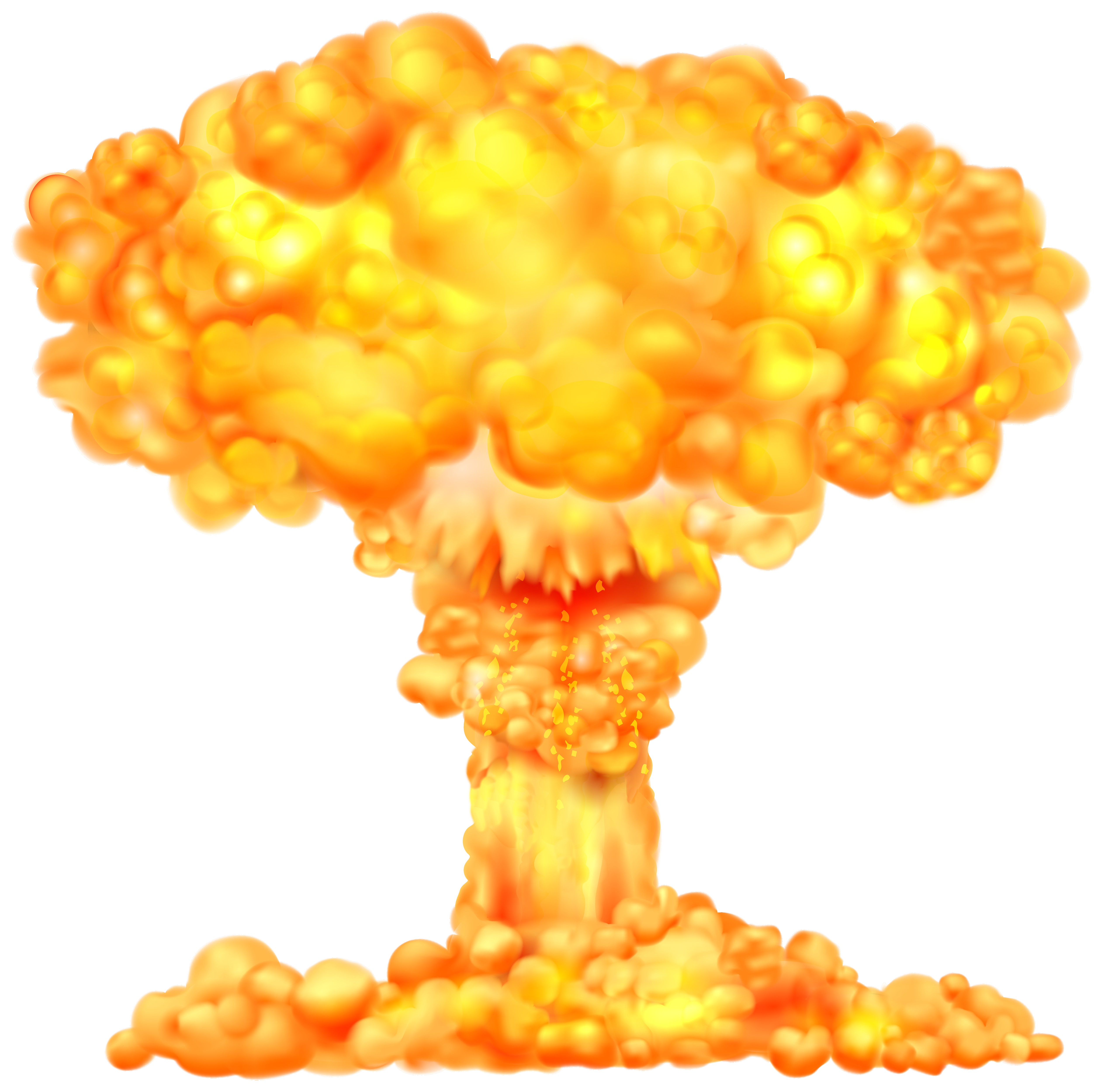 Explosions clipart border Fire PNG PNG Image