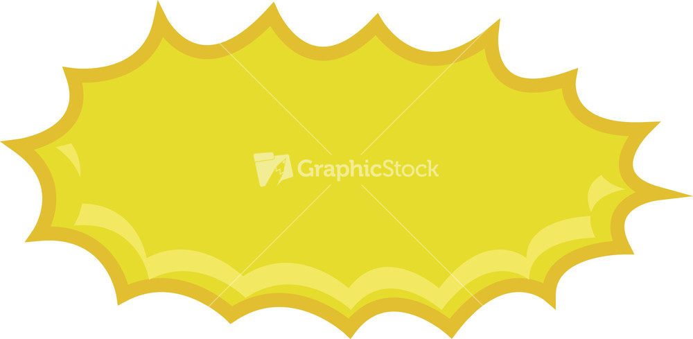 Explosions clipart border Comic Explosion  Stock Banner