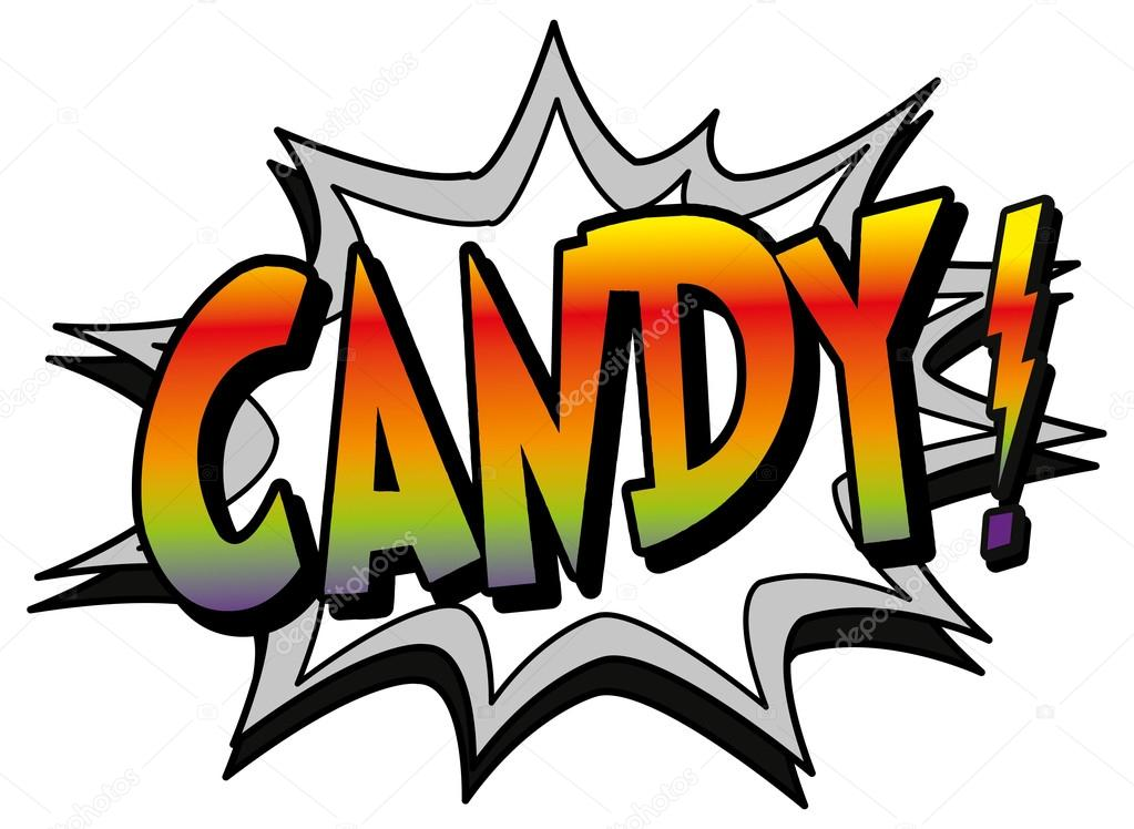 Candy clipart explosion Explosion Vector book Stock #59362587