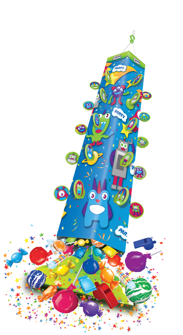 Candy clipart explosion Goodie Kids Monster Candy Activity