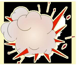 Explosions clipart cloud clipart Clipartix 2 images use Explosion
