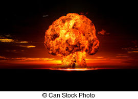 Explosions clipart cloud clipart Illustrations Nuclear Explosion 927