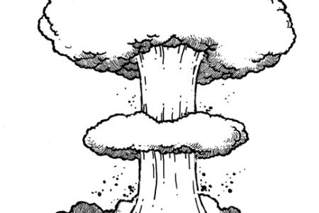 Sketch clipart bomb Cloud  Sketch Mushroom 484