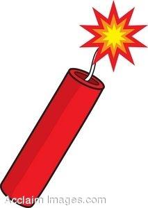 Battle clipart dynamite explosion #2