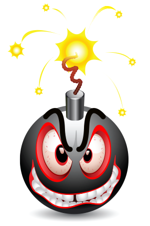 Explosions clipart emoji Explode Smileys About Explode to