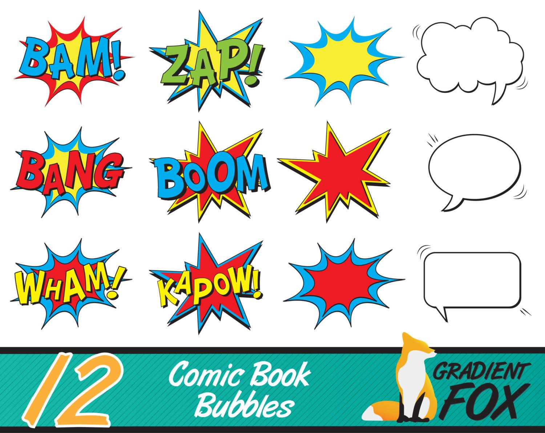 Comics clipart superhero #4
