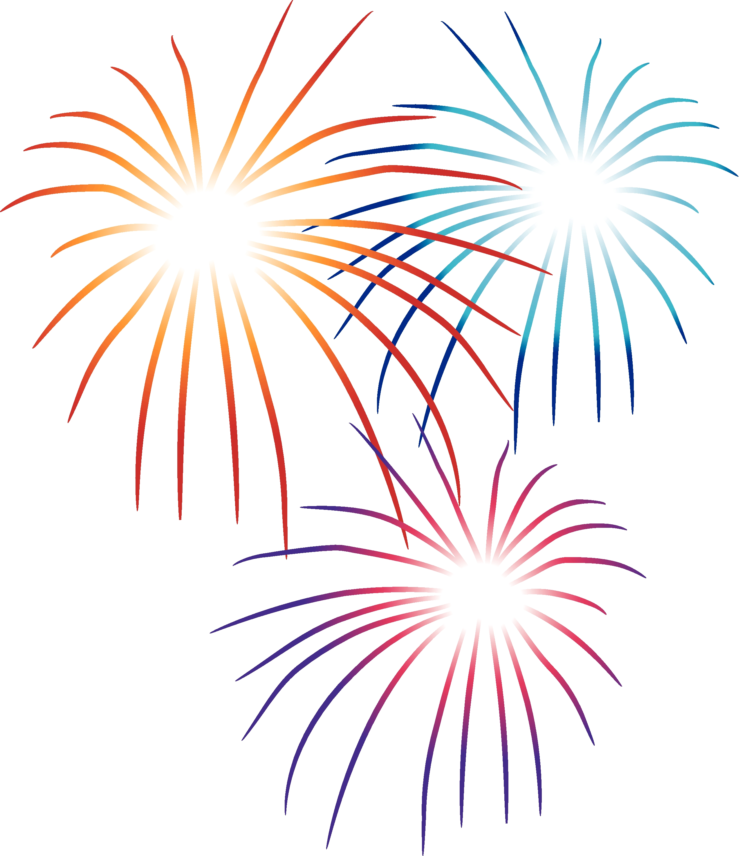 Silver clipart blue firework Fireworks Clipart cliparts Firework
