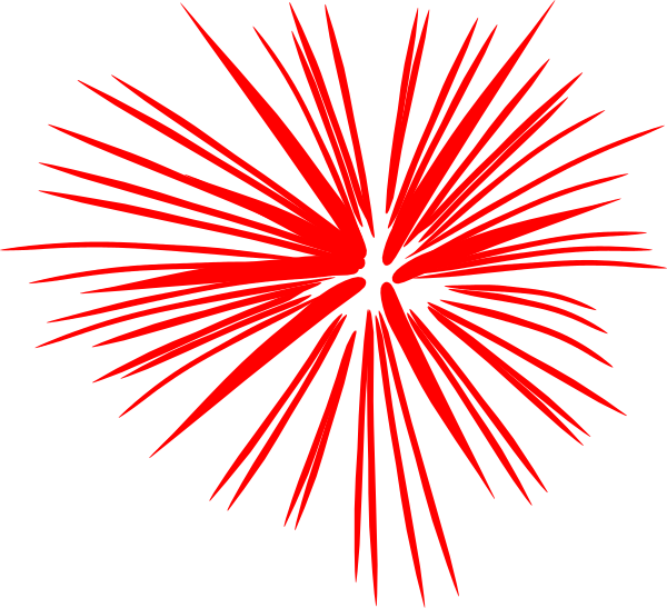 Celebration clipart firework explosion July Fireworks 4th 54 Clipart