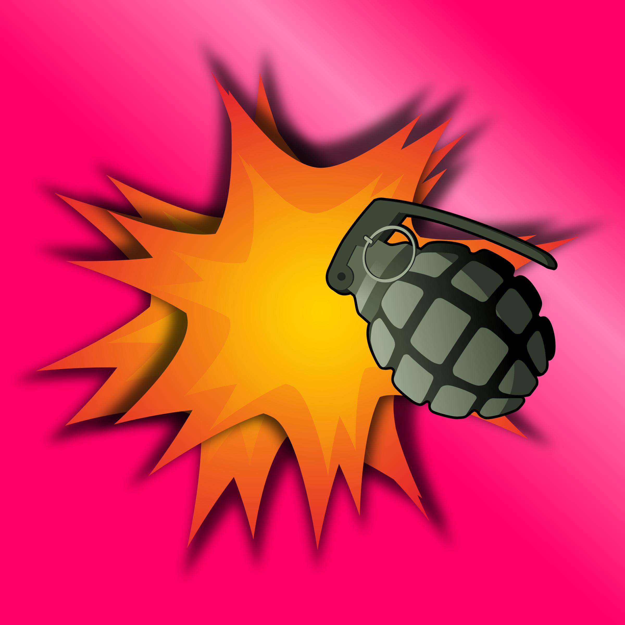 Explosions clipart grenade Explosion Grenade Clipart Explosion Grenade