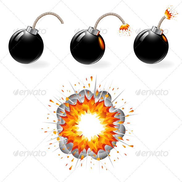 Explosions clipart grenade And bombs bombs explosion explosion