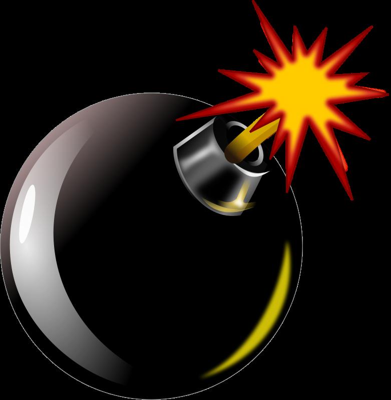 Comics clipart bomb Art Free Free Bomb Clipart
