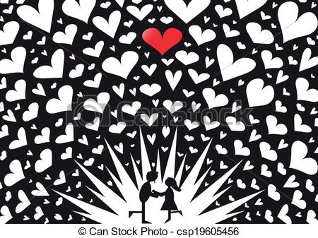 Explosions clipart heart Explosion Explosion in csp19605456 Kiss