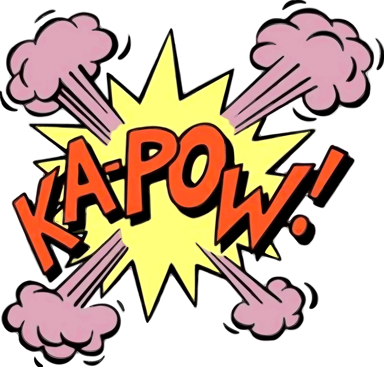 Saying clipart pop art Clip (FullScreen) Pop Pow Download