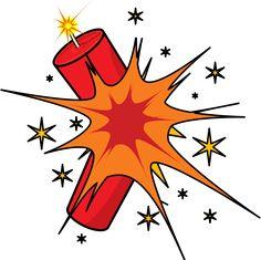 Battle clipart dynamite explosion #1