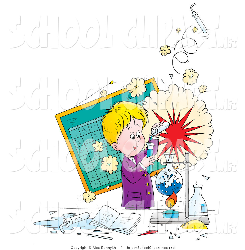 Laboratory clipart science class Royalty School  Designs Stock