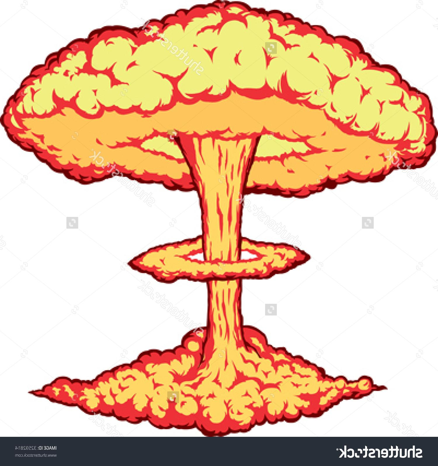 Explosions clipart mushroom cloud Cloud Drawing Art Images »
