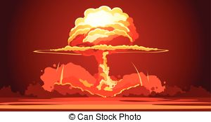 Explosions clipart mushroom cloud Mushroom Poster Nuclear  mushroom
