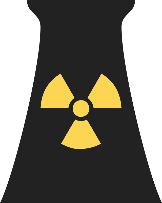 Radioactive clipart red Nuclear map Nuclear plant Bomb