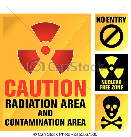 Explosions clipart nuclear power plant Explosion alarm reactor Clipart Vector