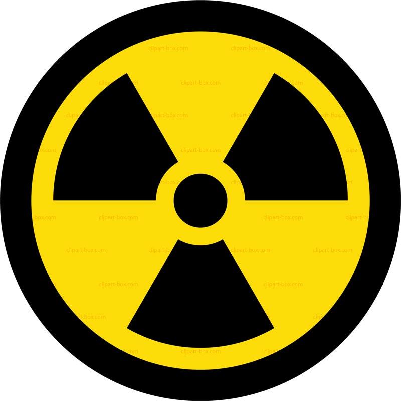 Nuclear clipart logo #1